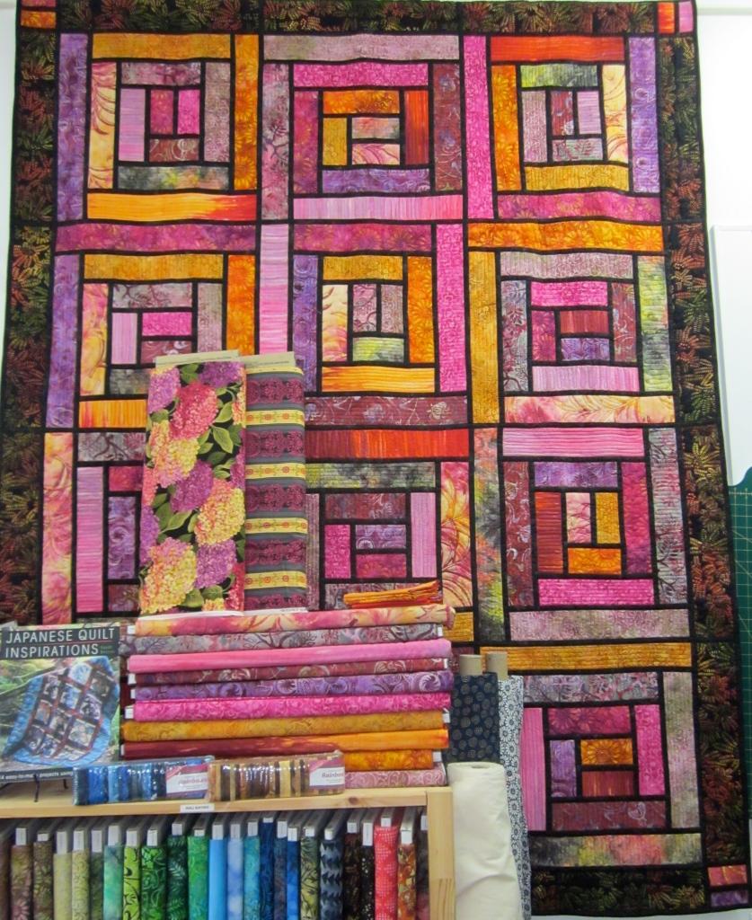 Bali Sunset Quilt, Ann Ferguson