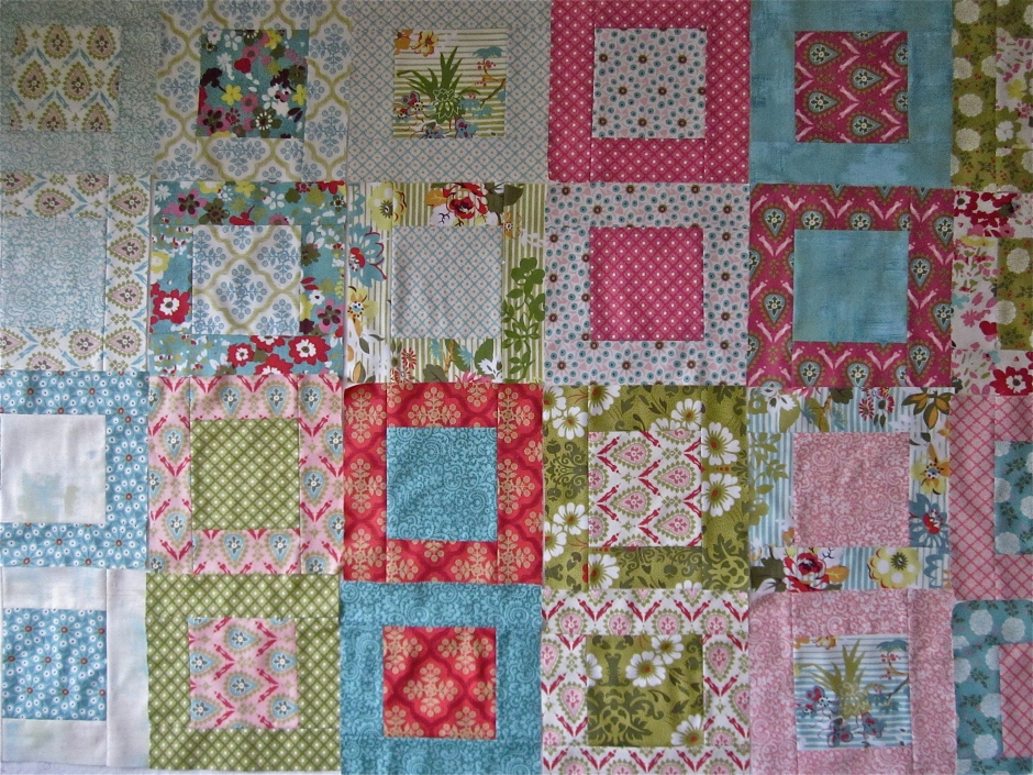 Framed: My Most Popular Moda Layer Cake Quilt Tutorial ...