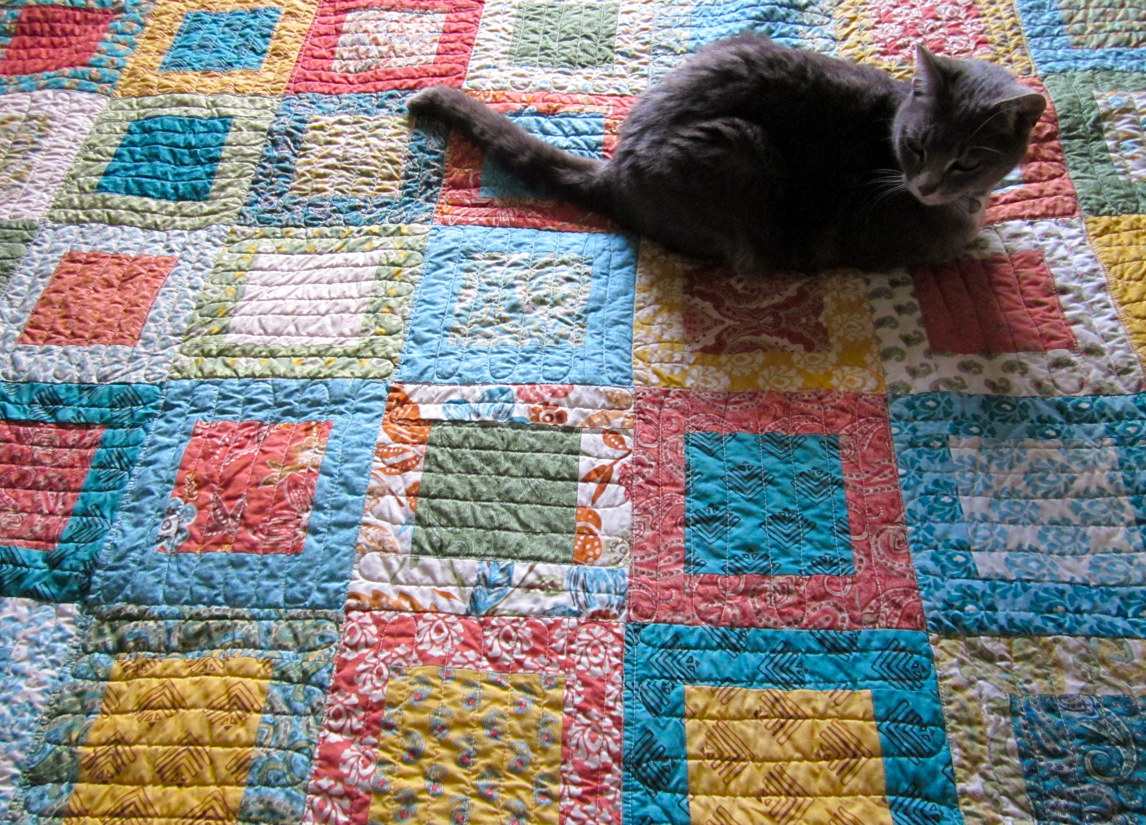 Layer Cake Quilt Missouri Star : Framed: My Most Popular Moda Layer Cake Quilt Tutorial ...