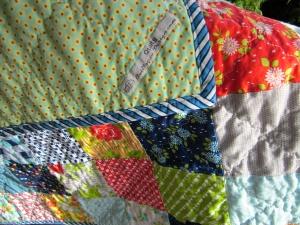 Ann Ferguson Quilts, Patchwork Quilt, Bonnie & Camille, Moda Fabric