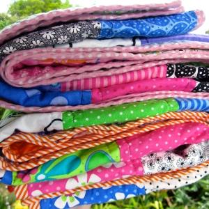 Ann Ferguson Quilt, Moda fabric, me & My Sister Designs