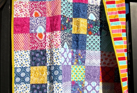 Ann Ferguson Quilts, Patchwork Quilt, Kate Spain, Moda Fabric