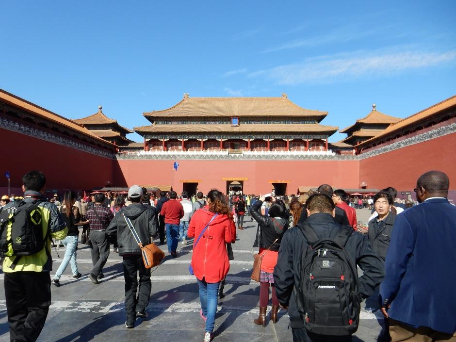 Forbidden City Gate, Beijing, China