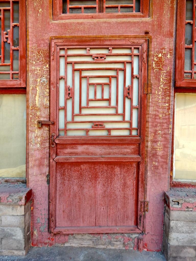 Forbidden City, Beijing, China, door